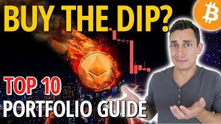 2021 CRYPTOCURRENCY GUIDE TO BUYING THE DIP: What I do when Bitcoin & Ethereum are Crashing Down