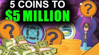 Top 5 Altcoins to Make You A Millionaire in 2021