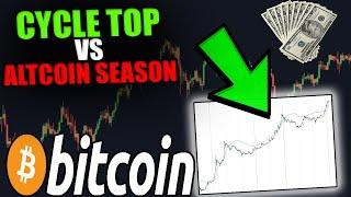 THIS IS HUGE FOR CRYPTO! MASSIVE ALTCOIN SEASON AHEAD OR CYCLE TOP?