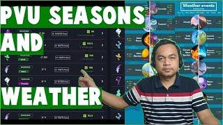 Plant vs Undead : Seasons and Weather of PVU (Tagalog)