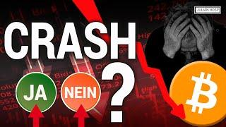 CRYPTO CRASH WEGEN BITCOIN DOUBLE SPEND??? ACHTUNG FAKE NEWS!!!