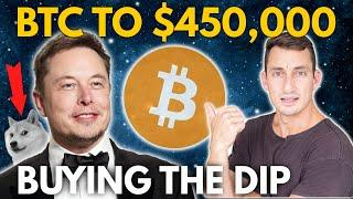 HUGE BULLISH CRYPTO & BITCOIN NEWS TO BUY THE DIP! Coinbase IPO to Surge! Elon Musk, SEC & DOGEcoin