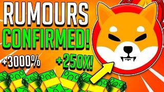 SHIBA INU COIN: THE RUMOURS ARE CONFIRMED! SHIBA INU HUGE LEAKED NEWS! - SHIB Market Prediction