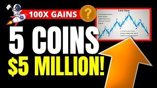 SHIBA INU HOLDERS! 5 COINS TO $5 MILLION! (Best Altcoin Picks To Become A Multi-Millionaire in 2021)