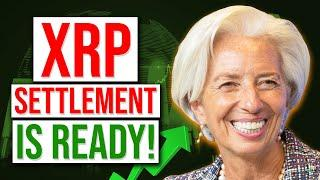 Ripple XRP settlement is ready?Massive IMF LEAK ?  Ripple and sick connection? Will XRP be the eSDR?