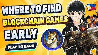 Best Source to find Play to Earn Crypto and NFT Blockchain Games   Find the next big Hit!