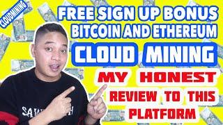 MINING FOREVER AND ETH PROFIT MINER! MY HONEST REVIEW. WITH SIGN UP BUNOS FOR FREE.