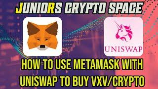 How To Use MetaMask/Uniswap To Buy VXV, LCX, ALBT, MRPH Or Any ERC20 Crypto