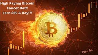 High Paying Bitcoin Faucet Collector Bot!! How To Earn $60 A Day From Bitcoin Faucets!! #faucets