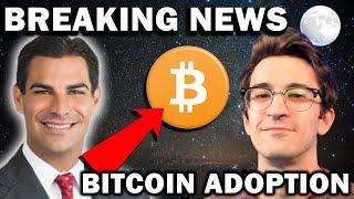 BREAKING CRYPTO NEWS!!! BITCOIN MASS ADOPTION