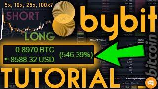 BYBIT TUTORIAL - FROM BEGINNER TO PRO - BITCOIN LEVERAGE TRADING