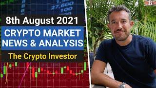 Crypto Market News & Analysis   (August 8th): Can DeFi, NFT´s & ETH Staking take Ethereum to 20k?