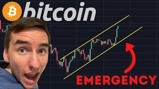 EMERGENCY VIDEO  BITCOIN BREAKOUT IS IMMINENT!!!!!!!!!!!!!!!!!!!!!!!