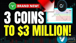 3 COINS TO $3 MILLION!!! 100X CRYPTO PICKS FOR SEPTEMBER 2021! (Best Altcoins)
