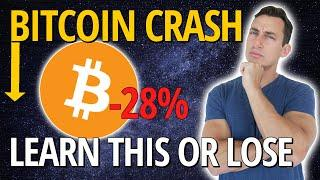 IMPORTANT: BITCOIN CRASH CYCLE RESEARCH | Can BTC Crash Further or Go Up Again? BTC Cycle Analysis