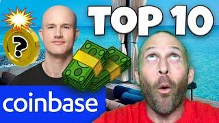 COINBASE UPCOMING ASSETS!!!!! TOP 10 ALTCOINS FOR 2021!!!!! [10x coinbase pump..]