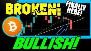BITCOIN PRICE BREAKS DOWN! HERE IS WHY BTC IS MORE BULLISH THAN EVER!