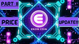 ENJIN COIN Part 2: TECHNICAL ANALYSIS and PRICE UPDATE!!!