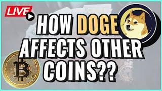 Dogecoin Price WILL affect your cryptocurrency! + Bitcoin Price Update! Coffee N Crypto Live