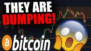 THESE PEOPLE ARE DUMPING BITCOIN NOW! [I Am Taking Action RIGHT NOW....]