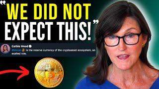 """Cathie Wood - Bitcoin will ERUPT! """"We did not expect THIS..."""" 