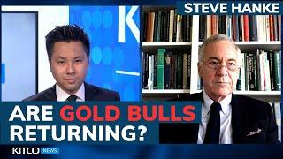 Sentiment for gold price is at most bullish level this year – Steve Hanke