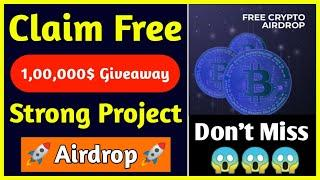 Get Free 1,00,000$ Giveaway | New Big Crypto Airdrop | CyberMiles CMT Token Giveaway Airdrop |