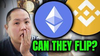 CAN BINANCE SMART CHAIN SURPASS ETHEREUM??? IS IT POSSIBLE TO FLIP???