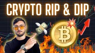 Crypto RIP! Now DIP..? Ethereum, Bitcoin, ChainLink, XRP, DOGE and EOS Price Predictions + News