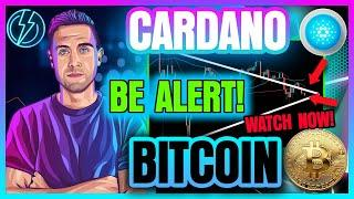 BITCOIN & CARDANO HANG ON BY A THREAD (Is Resistance Too Strong?)