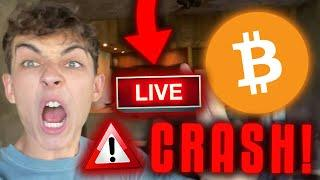 JETZT LIVE!!! BITCOIN CRASH!!! 1.000.000$ LONG TRADE!! [WICHTIG!!!!!]