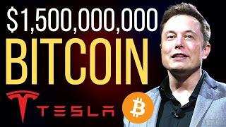BREAKING!! TESLA & ELON MUSK BUY $1.5 BILLION OF BTC!! (WHAT'S NEXT TO COME IS EVEN BETTER...)