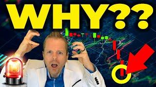 WHY IS BITCOIN DUMPING!?! (be ready!) #shorts