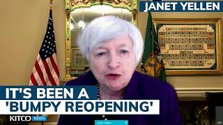 'We are not at risk of hyperinflation' — U.S. Treasury Secretary Janet Yellen