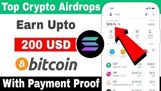 Earn $200 instant | New Solana Airdrop | New CoinMarketCap Airdrop | New Crypto Airdrops 2021