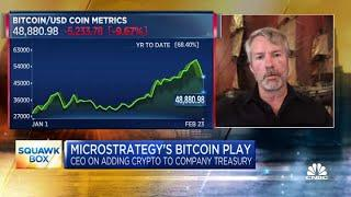 MicroStrategy CEO Michael Saylor On His Expectations For Bitcoin's Trajectory