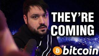 They Want YOUR Bitcoin!! The Smart Are Buying..