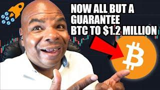 THIS NEWS MEANS BITCOIN TO $1.2 MILLION IS NOW ALL BUT A GUARANTEE!!!!