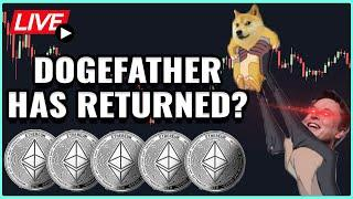 New Dogecoin Rally Incoming? - Ethereum Hardfork Launch Date Announced! Coffee N Crypto Live