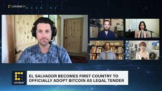El Salvador Officially Becomes First Country to Adopt Bitcoin as Legal Tender | The Hash