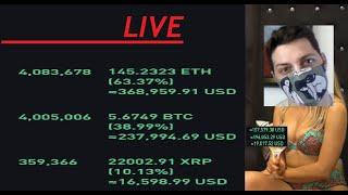 Live $8,000,000 Bitcoin Trade with $600,000 Profit as of Now