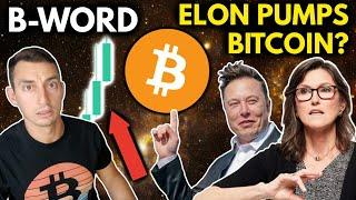BITCOIN RALLY BRINGS RELIEF FOR CRYPTO INVESTORS!! THE B-WORD w- ELON MUSK, CATHIE WOOD, JACK DORSEY