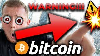 WARNING TO BITCOIN BULLS  THIS CHANGES EVERYTHING FOR BITCOIN & ETHEREUM!!!!!!! [not for long]