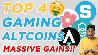 TOP (4) PLAY-TO-EARN CRYPTO GAMING   100-1000X POTENTIAL!!!