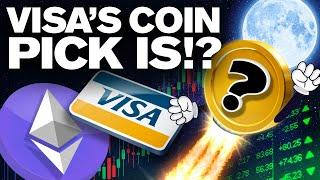 Visa Partners w/ Ethereum!! But Also w/ This ALTCOIN!?