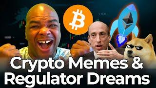 CRYPTO MEMES AND REGULATOR DREAMS - [how to trade it]