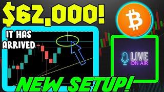 BITCOIN SETS UP MASSIVE NEW PATTERN! BTC PRICE TARGET $62,000!