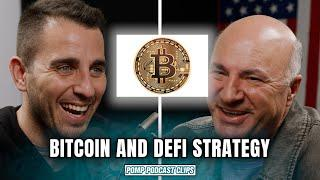 Kevin O'Leary's Bitcoin and Defi Strategy | Pomp Podcast CLIPS