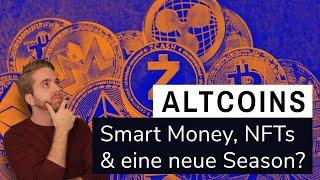Smart Money in Altcoins? - Grayscale & NFTs befeuern Altcoin Season