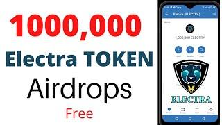 1000,000 Electra chain Free airdrops/free airdrop trust wallet/Airdrops Crypto